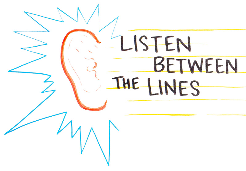 Listen Between the Lines